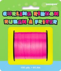 Krulluband - Dökkbleikt 91m image