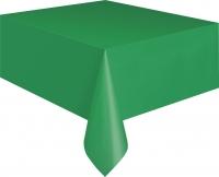 Pappadúkur með plastundirlagi - Emerald grænn 135x275cm image