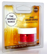 Rainbow Dust glimmer - Jewel gyllt appelsína 5 gr. image