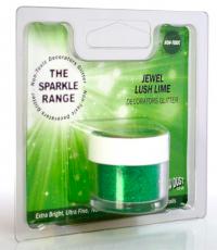Rainbow Dust glimmer - Jewel limegrænt 5 gr. image