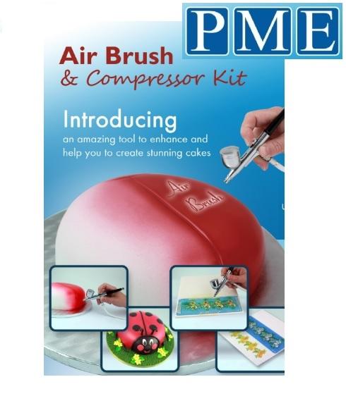 AirBrush sett með pressu