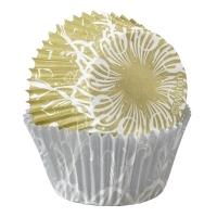 Muffinsmót - Gull og silfur (lítil) 100 stk. image