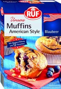 Amerískar bláberjamuffins image