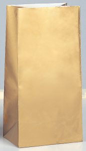 Bréfpokar - Gull 10 stk image