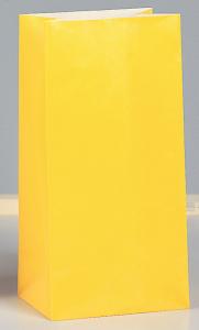 Bréfpokar - Sólblómagulir 12 stk image