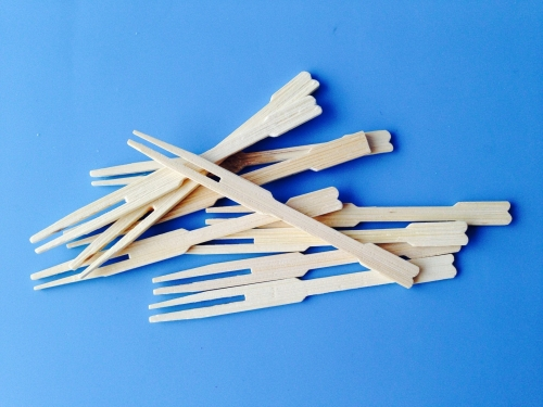 Bambus gafflar - 8,5cm - 10 stk