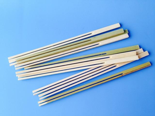 Bambus gafflar - 15cm - 10 stk image