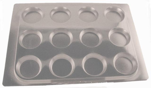 Cupcake bakki - Silfur image