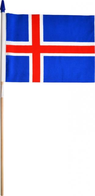 Íslenski fáninn - 18x25cm.  1 stk. image