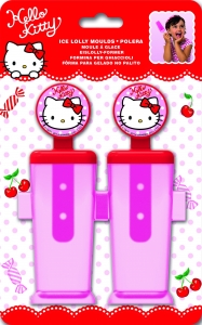 Ís- og frostpinnamót 2stk. - Hello Kitty image
