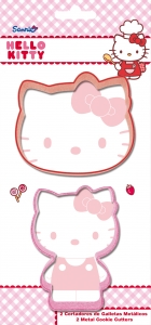 Smákökuskerar - 2 í setti - Hello Kitty image
