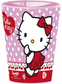 Glas úr plasti 260ml. - Hello Kitty image