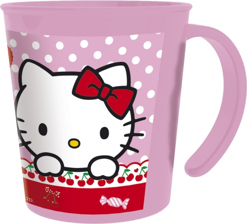 Kanna úr þykku plasti 280ml. - Hello Kitty