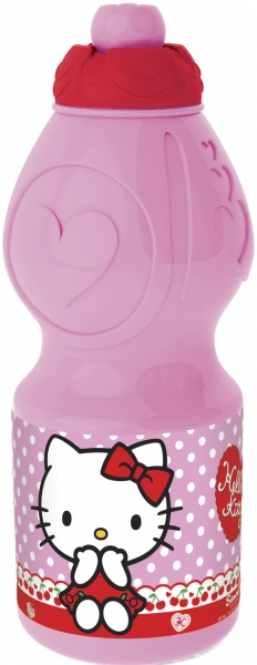 Brúsi úr plasti 400ml. - Hello Kitty