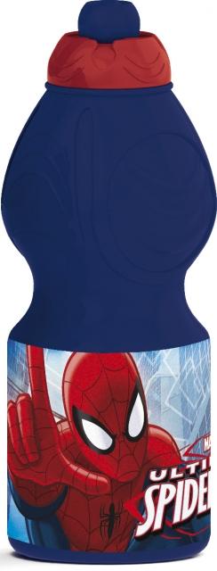 Brúsi úr plasti 400ml. - Spiderman image
