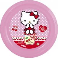 Diskur úr plasti 21cm - Hello Kitty image