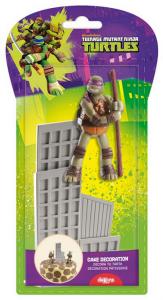 Skreytingasett - Ninja Turtles 2 stk image