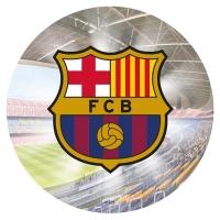 Sykurblað - F.C.Barcelona 20cm - Þykkt image