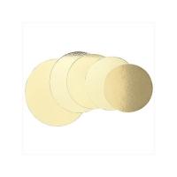 Kökuspjald - Gyllt kringlótt 40 cm image