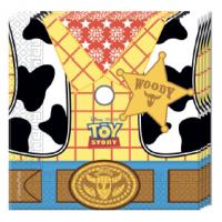 Servíettur - Toy Story - 33x33cm, 20stk. image