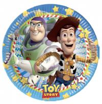 Pappadiskar - Toy Story - 19,5cm, 8stk. image
