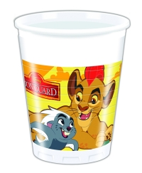Plast glös - Lion Guard - 200ml., 8stk. image