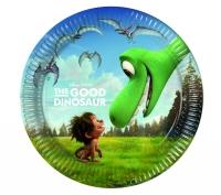 Pappadiskar - The Good Dinosaur - 19,5cm, 8stk. image