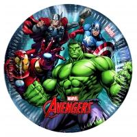 Pappadiskar - Avengers Power - 19,5cm, 8stk. image