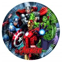 Pappadiskar - Avengers Power - 22cm, 8stk. image
