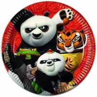 Pappadiskar - Kung Fu Panda - 22cm, 8stk. image