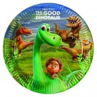 Pappadiskar - The Good Dinosaur - 22cm, 8stk. image