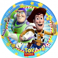 Pappadiskar - Toy Story - 22cm, 8stk. image