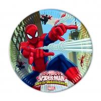 Pappadiskar - Ultimate Spiderman - 22cm, 8stk. image