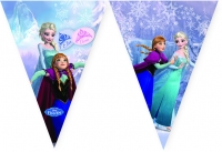 Fánalengja - Frozen á skautum - 9 plast fánar 2,3m. image