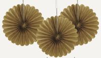 Blævængir 3stk. litlir - Gull 15cm image