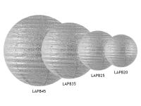 Glimmer kúla - Silfur - 25cm image