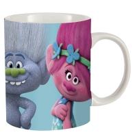 Keramik Kanna með nammi og barmmerkjum - Trolls image