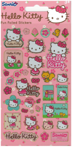 Límmiðar - Endurnotanlegir - Hello Kitty B image
