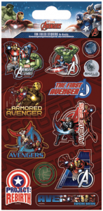 Límmiðar - Endurnotanlegir - Avengers B image