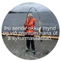 Sykurblað - Allt eftir þínu höfði 20 cm hringur image