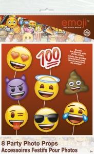 Ljósmyndaprops - Emoji 8 stk image