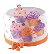 Silíkon blúndumotta - Muffins 40 x 8 cm image