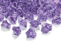 Ís-kristalar 25 x 21 mm - Fjólubláir - 50 stk image