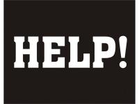 Skólímmiðar - Help! image