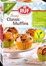 Vegan muffins með súkkulaðispænum image