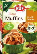 Bio Vanillu-muffins með súkkulaðispænum image