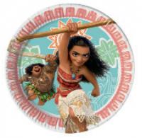 Pappadiskar - Moana - 19,5cm, 8stk. image