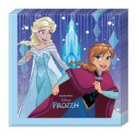 Servíettur - Frozen Snowflakes - 33x33cm, 20stk. image