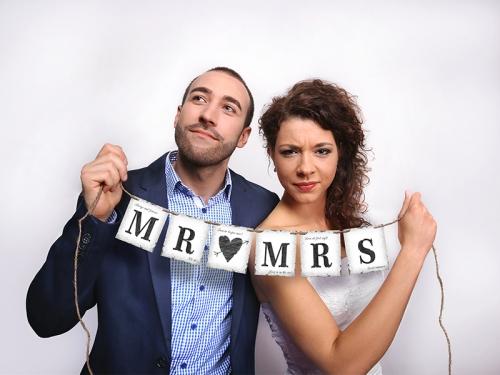 Fánalengja - MR og MRS - ca. 77 cm.
