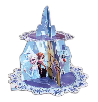 Cupcake standur - Frozen - 2 hæðir